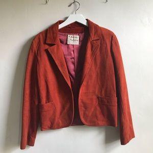 Vintage Leather Jacket in Russet